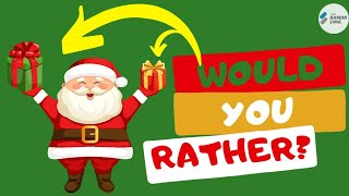 WOULD YOU RATHER? MERRY CHRISTMAS - PE AT HOME ACTIVITIES FOR KIDS - ONLINE CLASS - PROF RAMON LIMA