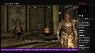Skyrim Remasterd PS4 MODS: Road To The Grey Beards + Mods!