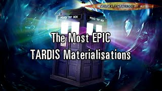 The Most EPIC TARDIS Materialisations Compilation - Volume I