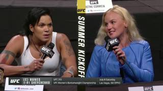 UFC Summer Kickoff Press Conference Highlights