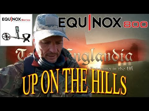 Metal Detecting UK - Up on the Hills