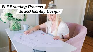 Full Branding Process Start To Finish As A Brand Identity Designer