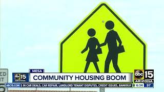 New community housing boom in Mesa