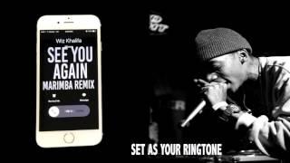 Wiz Khalifa Feat. Charlie Puth See you Again Marimba Remix Ringtone