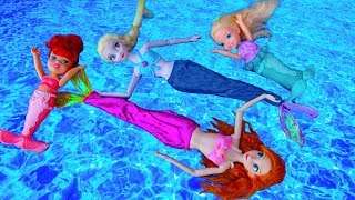 Elsa and Anna toddlers mermaid adventure