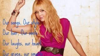 Hannah Montana- Let's Get Crazy (lyrics)