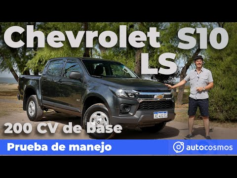 Test Chevrolet S10 LS: 200 CV de base