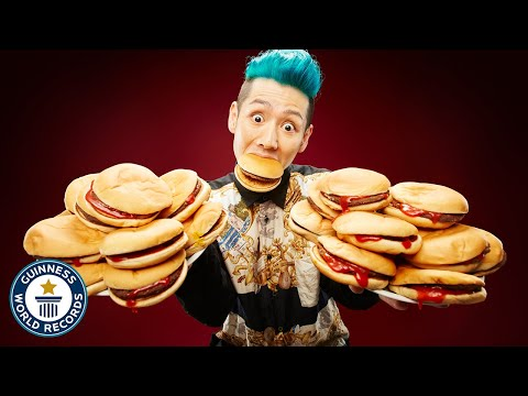 How Many Hamburgers Can You Eat in 3 Minutes?