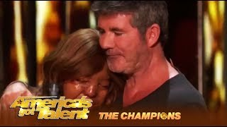 Kechi: Miracle Girl Gets Simon Cowell's Most EMOTIONAL Golden Buzzer! | AGT Champions