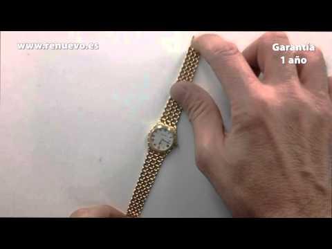 Reloj BULOVA de oro de 18 kilates de segunda mano E243831A