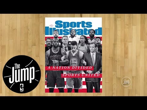 Steph Curry reacts to Sports Illustrated cover | The Jump | ESPN