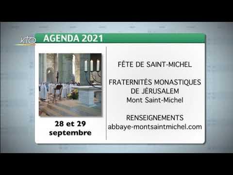Agenda du 20 septembre 2021