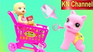 KN Channel BÚP BÊ BABY ALIVE DOLL CHĂM SÓC NGỰA CON MY LITTLE PONY của BÉ NA