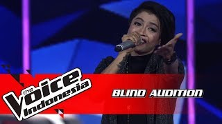 Kim - Yang Aku Tunggu | Blind Auditions | The Voice Indonesia GTV 2018