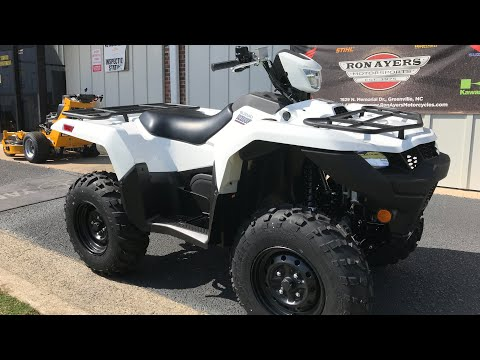 2020 Suzuki KingQuad 750AXi Power Steering in Greenville, North Carolina - Video 1