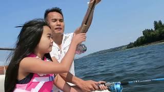 câu cua ở Mỹ , bắt cá cuộc sống ở Mỹ