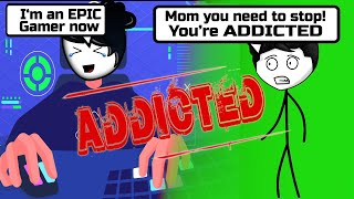 When a Gamer's Mom gets addicted to Gaming