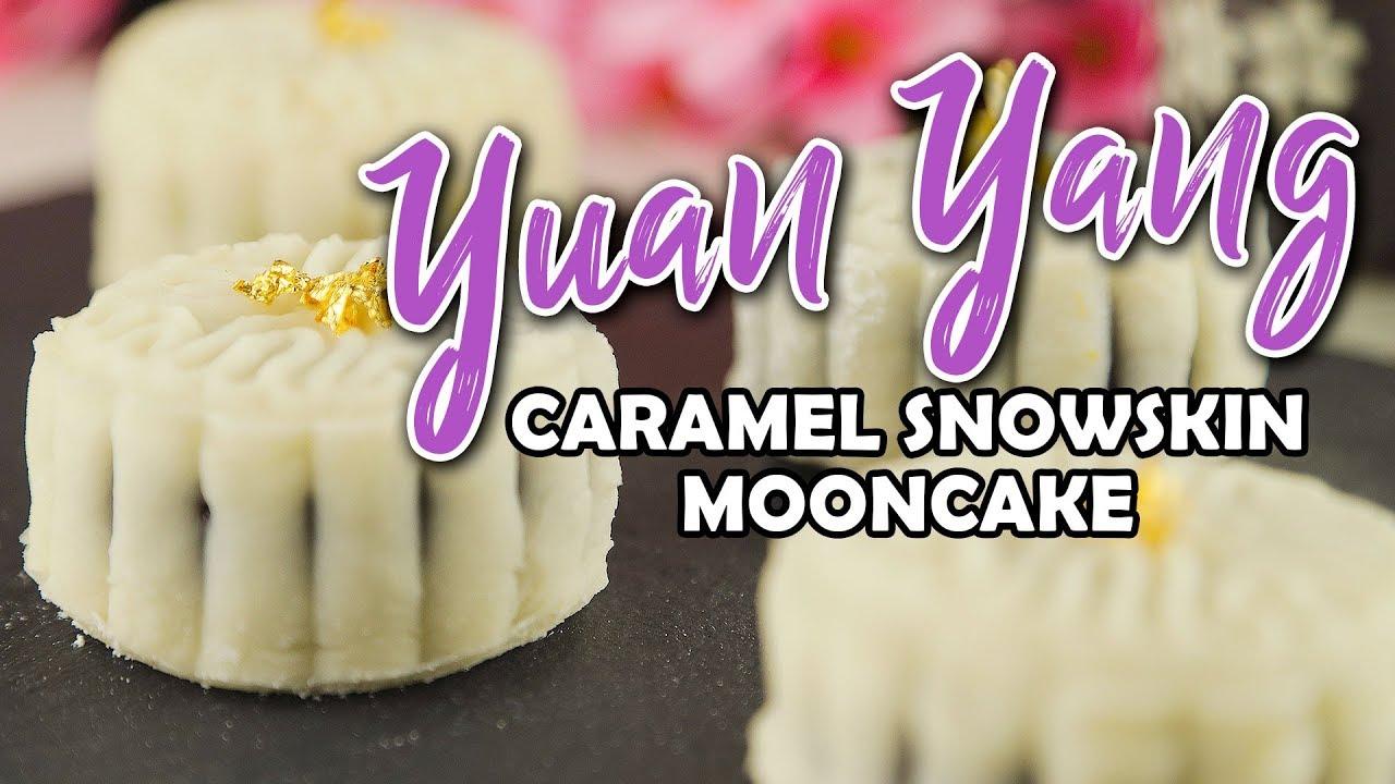 Yuan Yang Caramel Snowskin Mooncake