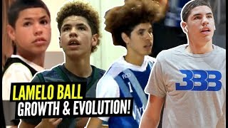 "LaMelo Ball's Incredible Evolution Through The Years! From 5'5"" to 6'7"" In 4 Years!"