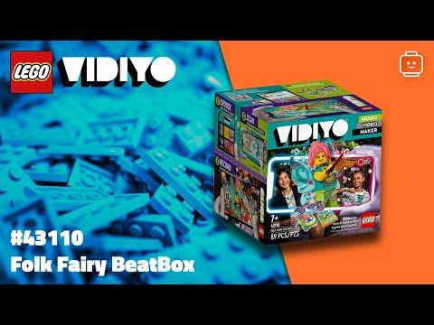 Vidéo LEGO VIDIYO 43110 : Folk Fairy BeatBox