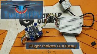 iFlight SucceX-D Mini F7 TwinG Stack (F7+40A ESC) for DJI Air Unit