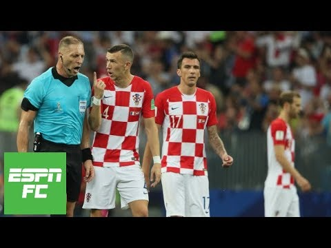 a36d60c9425 Ivan Perisic penalty decision  Did referee get World Cup final call   shockingly  wrong