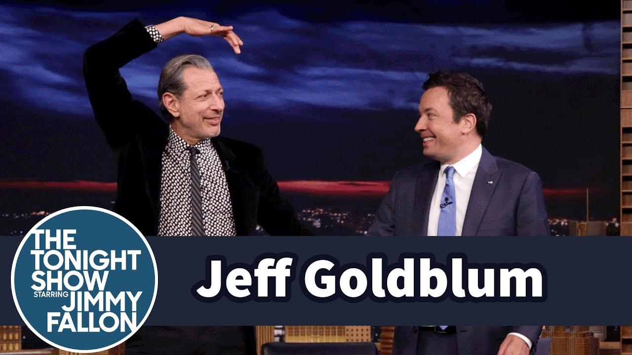 Jeff Goldblum Teaches Jimmy His Workout Routine thumbnail