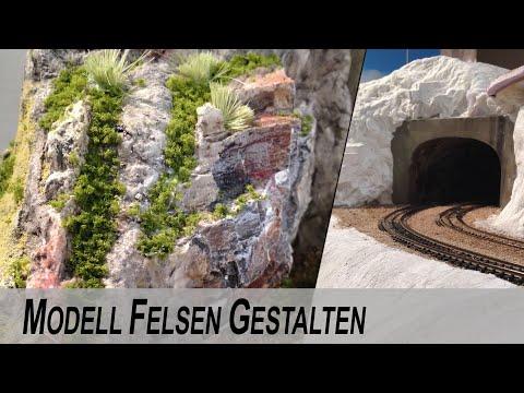 Modell Felsen gestalten - Landschaftbau für Modelleisenbahn
