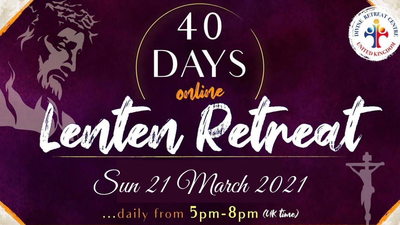 Healing Service, Holy Adoration & Mass 21st March 2021 at Divine Retreat UK