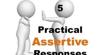 Assertiveness Skills Training Mumbai: 5 Practical Assertive responses