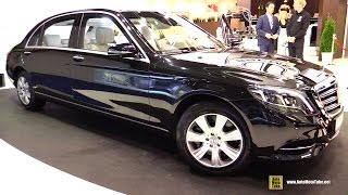 2015 Mercedes S600L Trasco Armored and Extended Premium Limousine   Exterior, Interior Walkaround