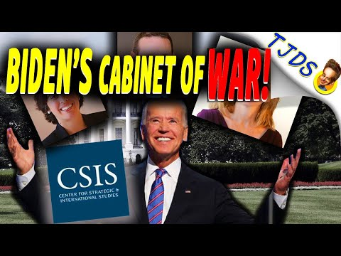 Biden's Cabinet Of WAR!