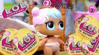 Мультик ЛОЛ НОВЫЕ СОСЕДИ Куклы LOL 3 серия #Сюрпризы Игрушки Меняют Цвет | Lalaloopsy Вероника