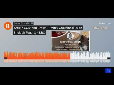 Trade expert explains why Brextremists are wrong about GATT Article 24