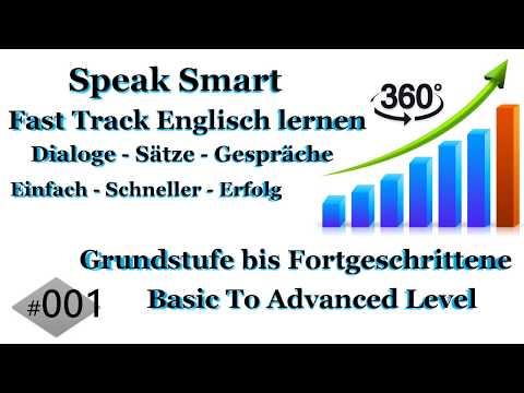 01 Englisch Sprachkurs  Schnell Einfach Englisch Sprach Lernen  Englisch nach Deutsch   German to E