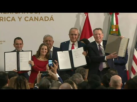 US, Mexico, Canada sign deal finalising USMCA trade pact | AFP