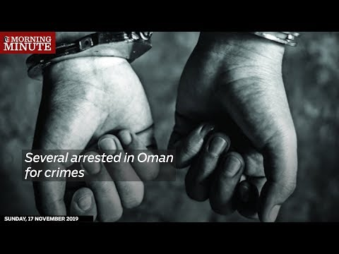 Several arrested in Oman for crimes