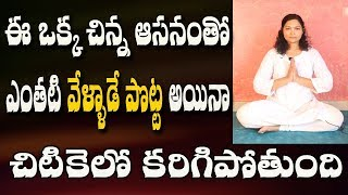 How To Reduce Stomach Fat In Telugu | Yoga Videos For Beginners | Yoga Videos | Yoga In Telugu