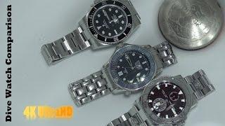 Top Dive Watches - Rolex Vs. Omega Vs. Ulysse Nardin