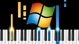 Microsoft Windows Sounds On Piano - How To Play Windows Startup & Shutdown Sounds On Piano!