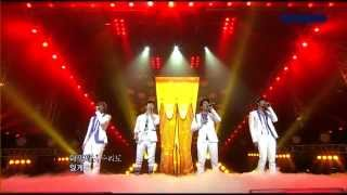2AM - Even If I Die Can't Let You Go LIVE (Pop-CAÑETE) [HD]