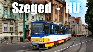 preview picture of video 'SZEGED TRAM - Straßenbahn in Szeged (29.-31.05.2014)'
