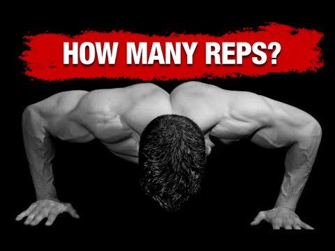 How Many Reps to Build Muscle (BODYWEIGHT EXERCISES!)