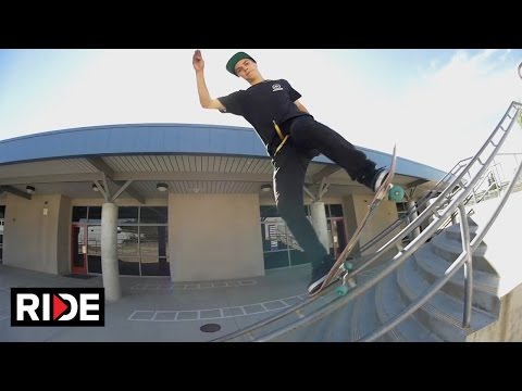 Olivier Lucero - Skate Tour of Claremont Schoolyard Ride