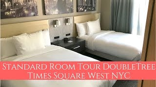 Standard Room Tour DoubleTree Times Square West New York City
