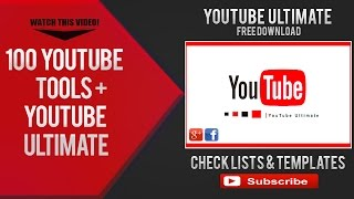 YouTube Checklist Template Ultimate Free PowerPoint Download