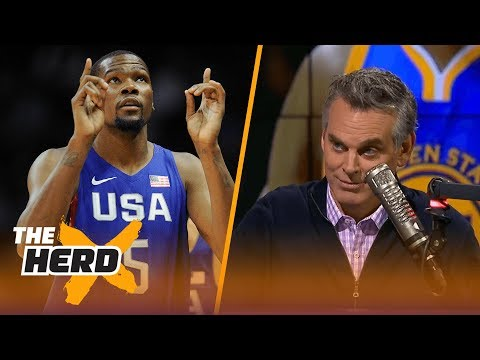 Kevin Durant doesn't perplex Colin, the Golden State Warriors do | THE HERD