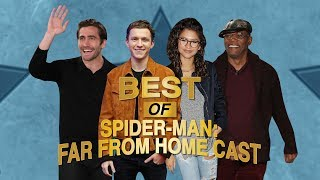 The Best of 'Spider-Man' Cast: Tom Holland, Zendaya, Jake Gyllenhaal, and Samuel L. Jackson
