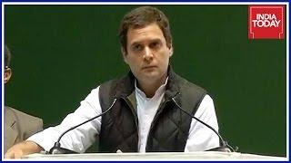 Rahul Gandhi Attacks PM Modi At Congress Jan Vedan Sammelan