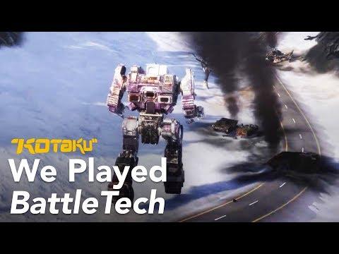 Watch Us Blow Up Giant Robots In Battletech